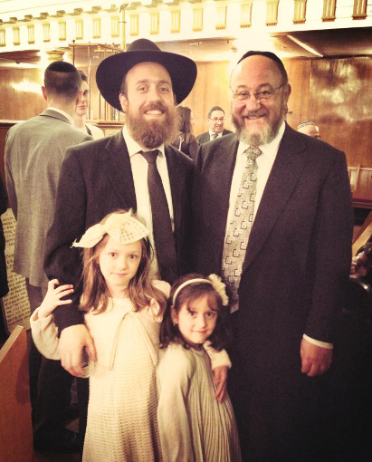 Chief Rabbi in Spitalfields for Sandys Row Synagogue's 160th anniversary